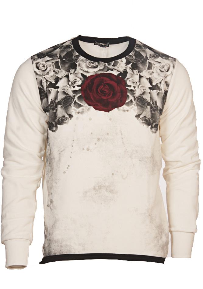 Ανδρικό Φούτερ Bordeaux Rose αρχική ανδρικά ρούχα φούτερ