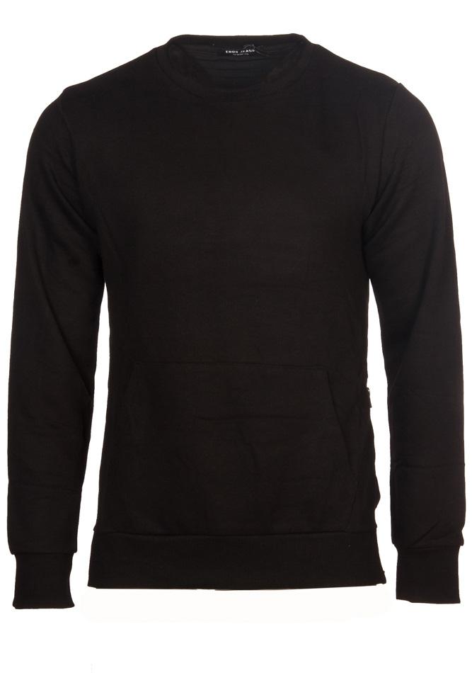 Ανδρική Μπλούζα Grey Black Zipper αρχική ανδρικά ρούχα επιλογή ανά προϊόν φούτερ
