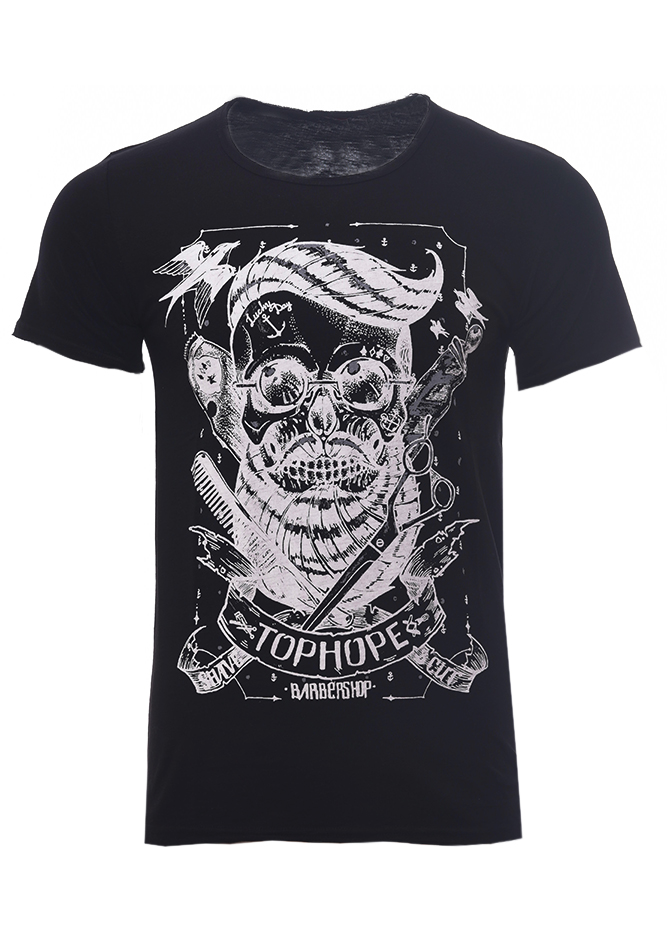 3f1bf6332809 Ανδρικό T-shirt Tophope Black