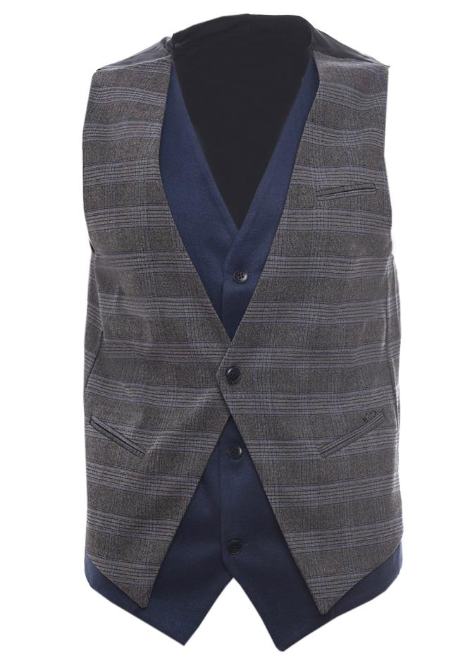 Ανδρικό Γιλέκο Smartness Brown αρχική ανδρικά ρούχα