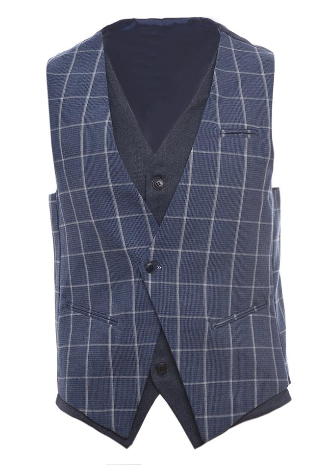 Ανδρικό Γιλέκο Smartness Blue αρχική ανδρικά ρούχα επιλογή ανά προϊόν σακάκια   γιλέκα