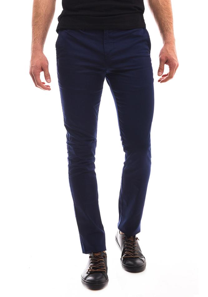 Ανδρικό Chino Παντελόνι Endeson Blue αρχική ανδρικά ρούχα