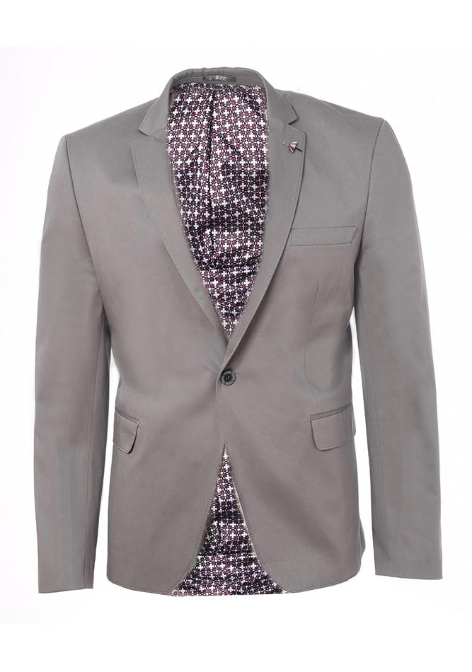 Ανδρικό Σακάκι Zen Grey αρχική ανδρικά ρούχα επιλογή ανά προϊόν σακάκια   γιλέκα