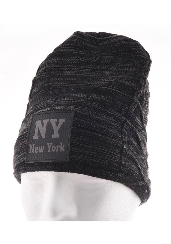 Ανδρικός Σκούφος New York Black αρχική αξεσουάρ   παπούτσια