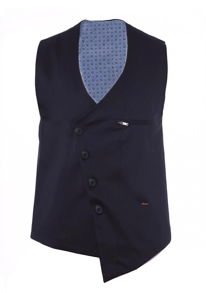Ανδρικό Γιλέκο Zen D.Blue αρχική ανδρικά ρούχα επιλογή ανά προϊόν σακάκια   γιλέκα