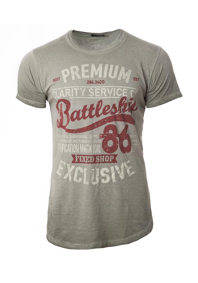 Ανδρικό T-shirt Exclusive Green αρχική ανδρικά ρούχα επιλογή ανά προϊόν t shirts