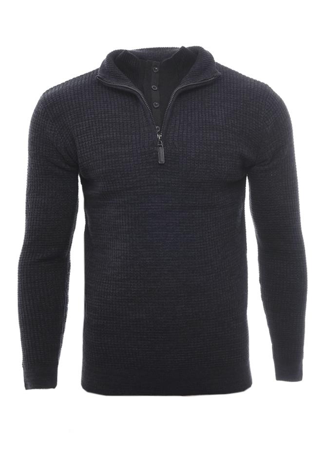 Ανδρική Πλεκτή Μπλούζα Restricted Black αρχική ανδρικά ρούχα επιλογή ανά προϊόν πλεκτά