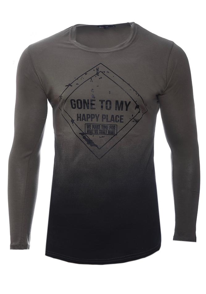 Ανδρική Μπλούζα Gone Olive Green αρχική ανδρικά ρούχα επιλογή ανά προϊόν μπλούζες