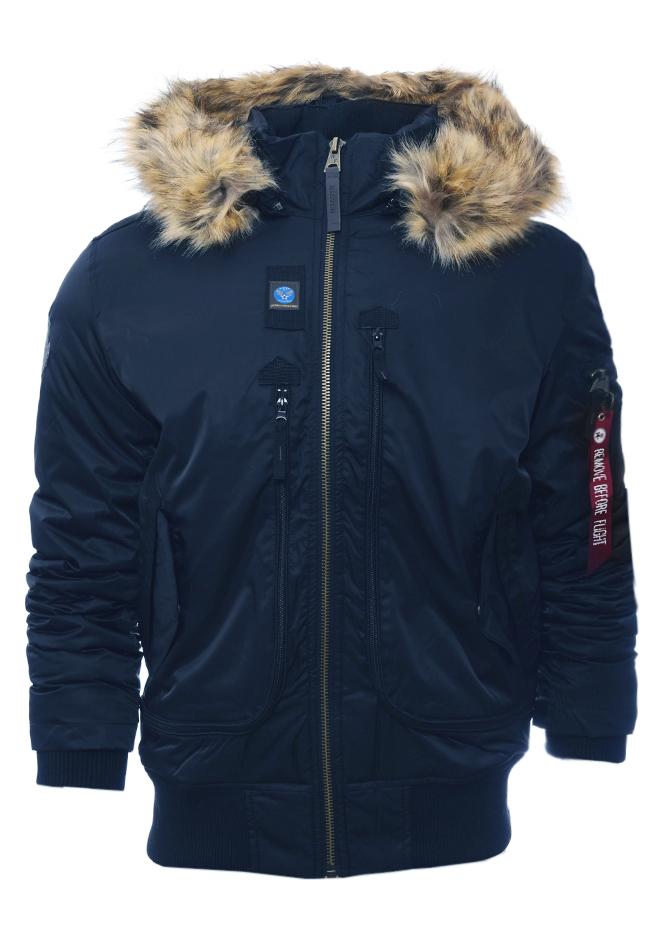 Ανδρικό Μπουφάν Rough D.Blue αρχική ανδρικά ρούχα επιλογή ανά προϊόν μπουφάν