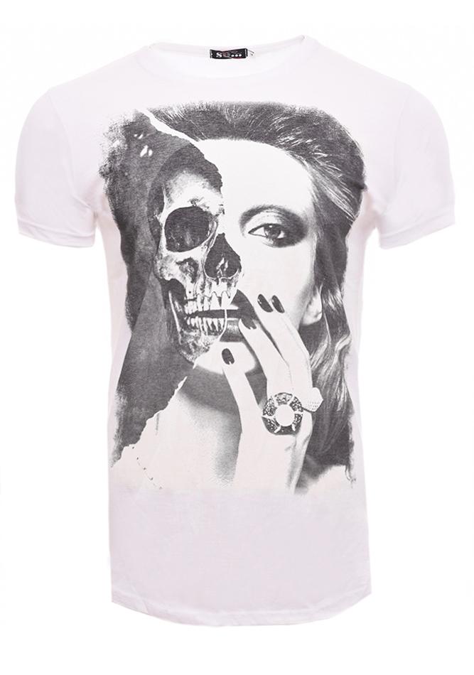 Ανδρικό T-shirt Woman White αρχική άντρας μπλούζες t shirts