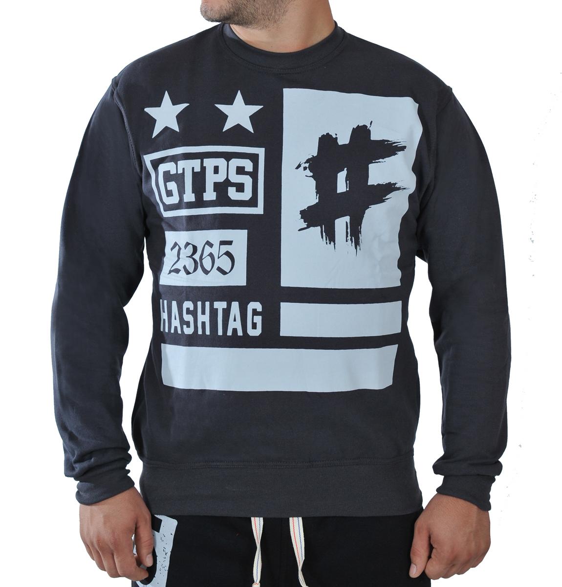 Ανδρικό Φούτερ GTPS-Γκρι Σκούρο αρχική ανδρικά ρούχα φούτερ