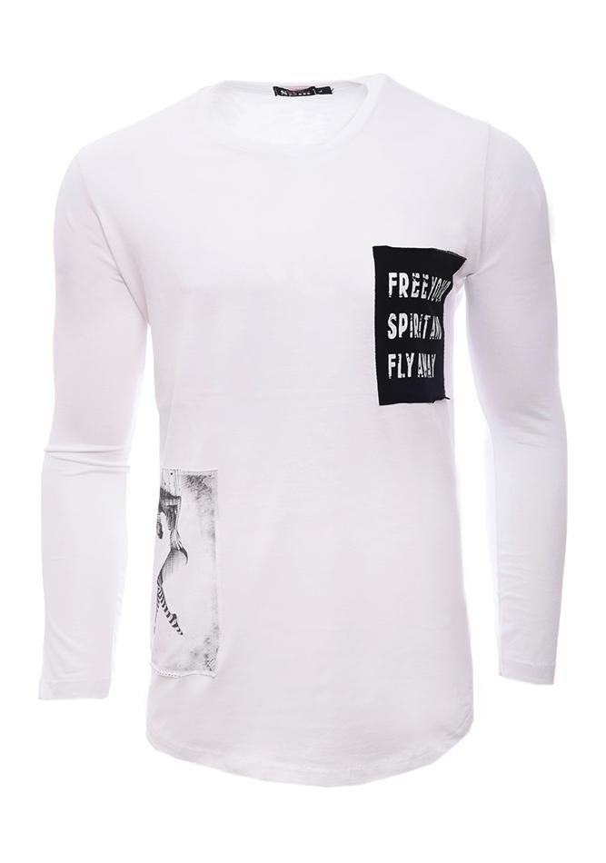 Ανδρική Μπλούζα Spirit White