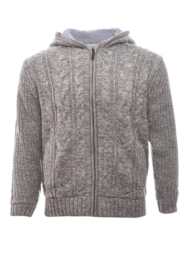 Ανδρική Πλεκτή Ζακέτα Nature Grey αρχική ανδρικά ρούχα επιλογή ανά προϊόν ζακέτες