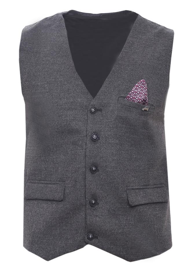 Ανδρικό Γιλέκο Mage Grey αρχική ανδρικά ρούχα επιλογή ανά προϊόν σακάκια   γιλέκα