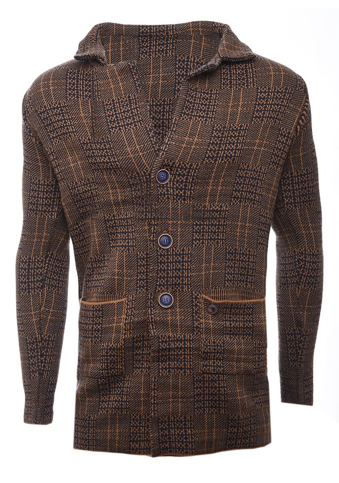 Ανδρική Πλεκτή Ζακέτα Relax αρχική ανδρικά ρούχα επιλογή ανά προϊόν ζακέτες