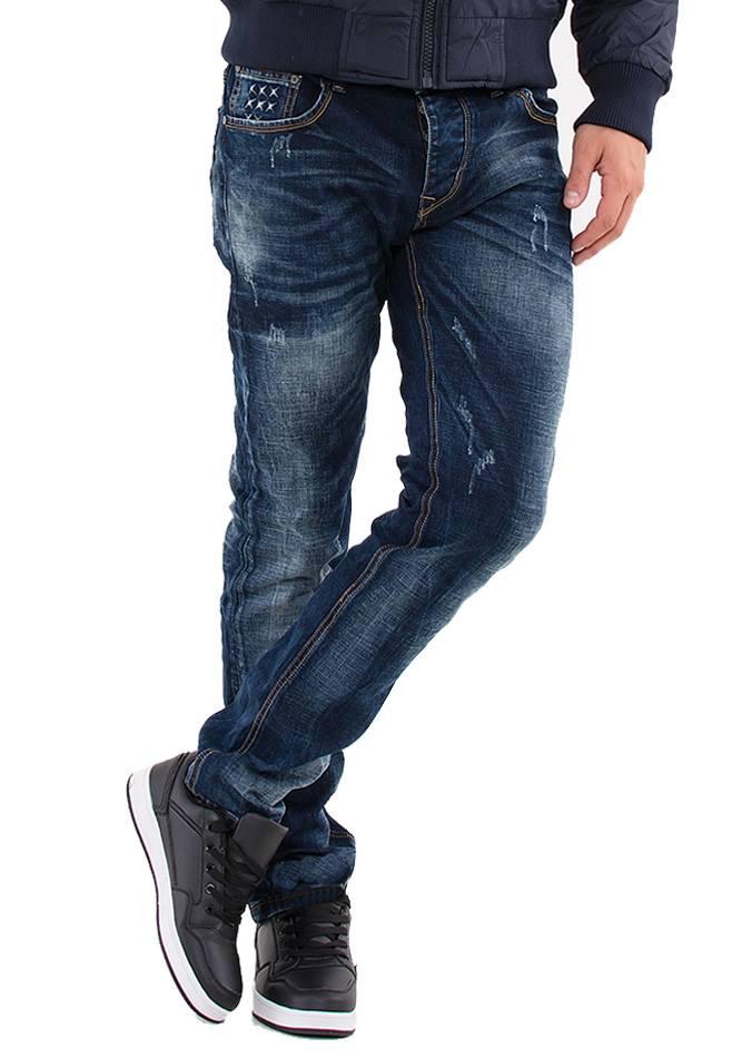 Ανδρικό Jean Vintage Blue αρχική ανδρικά ρούχα παντελόνια jeans