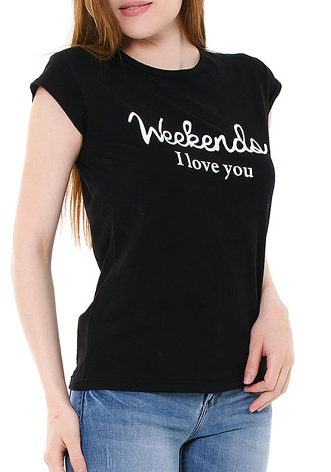 Μπλούζα Weekend Black αρχική γυναικεία ρούχα μπλούζες   tops