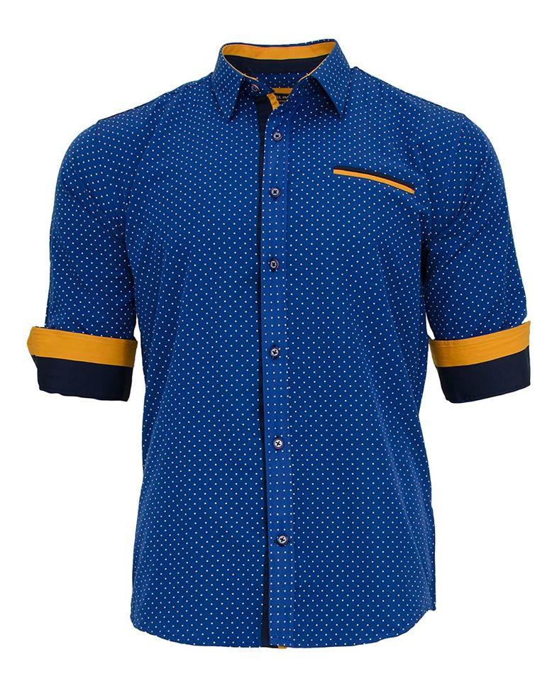 Ανδρικό Πουκάμισο Yellow Line αρχική ανδρικά ρούχα πουκάμισα