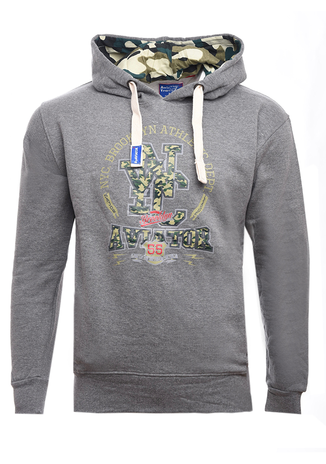 Ανδρικό Φούτερ League Grey αρχική ανδρικά ρούχα επιλογή ανά προϊόν φούτερ