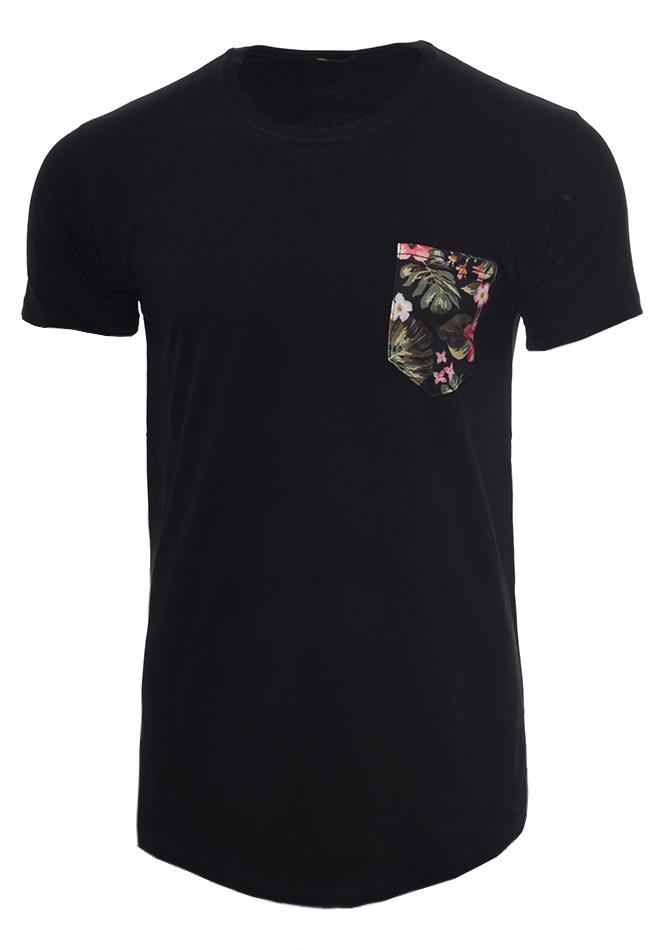 Ανδρικό T-shirt Spring Black αρχική άντρας μπλούζες t shirts