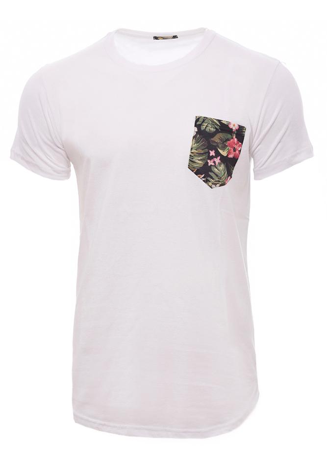 Ανδρικό T-shirt Spring White αρχική άντρας μπλούζες t shirts