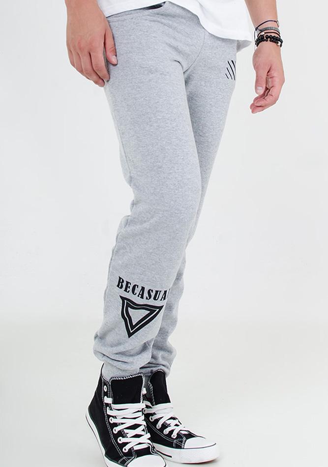 Ανδρική Φόρμα Becasual Triangle-Γκρι αρχική ανδρικά ρούχα φόρμες