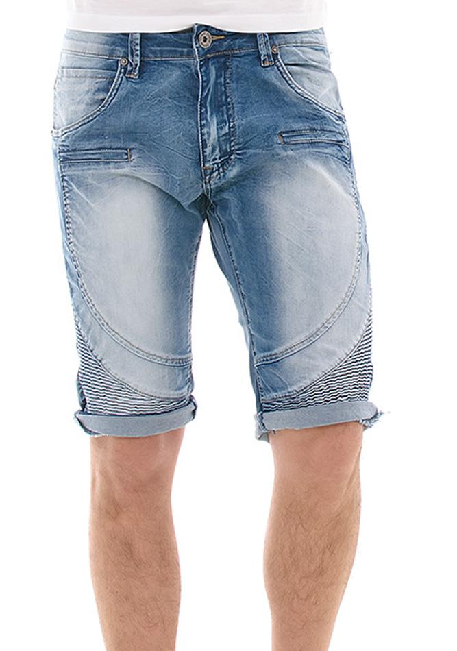 Ανδρική Βερμούδα Jean TMK Blue αρχική ανδρικά ρούχα επιλογή ανά προϊόν βερμούδες
