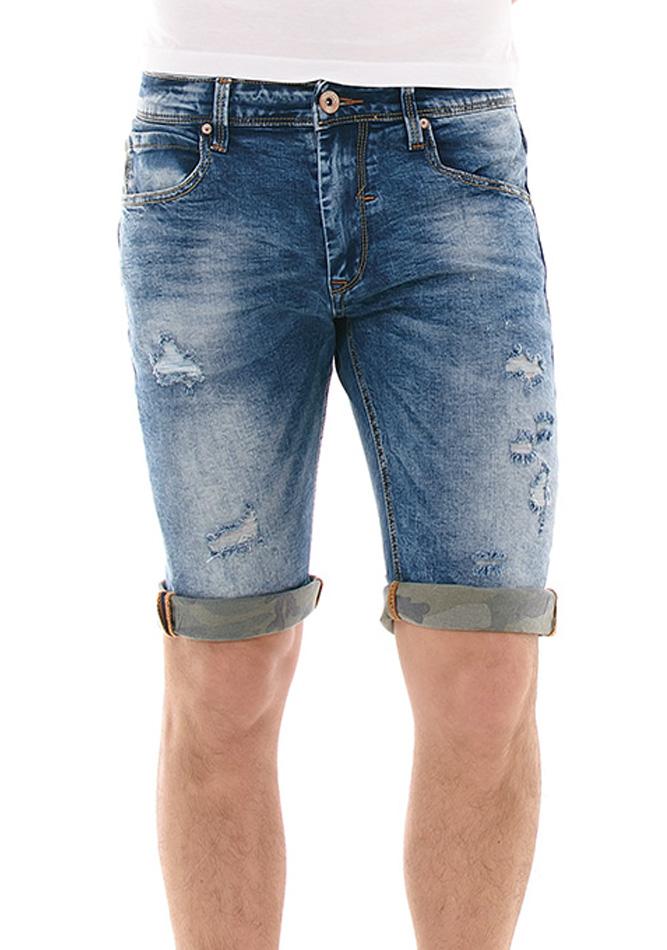 Ανδρική Βερμούδα Jean Fashion Blue αρχική ανδρικά ρούχα επιλογή ανά προϊόν βερμούδες