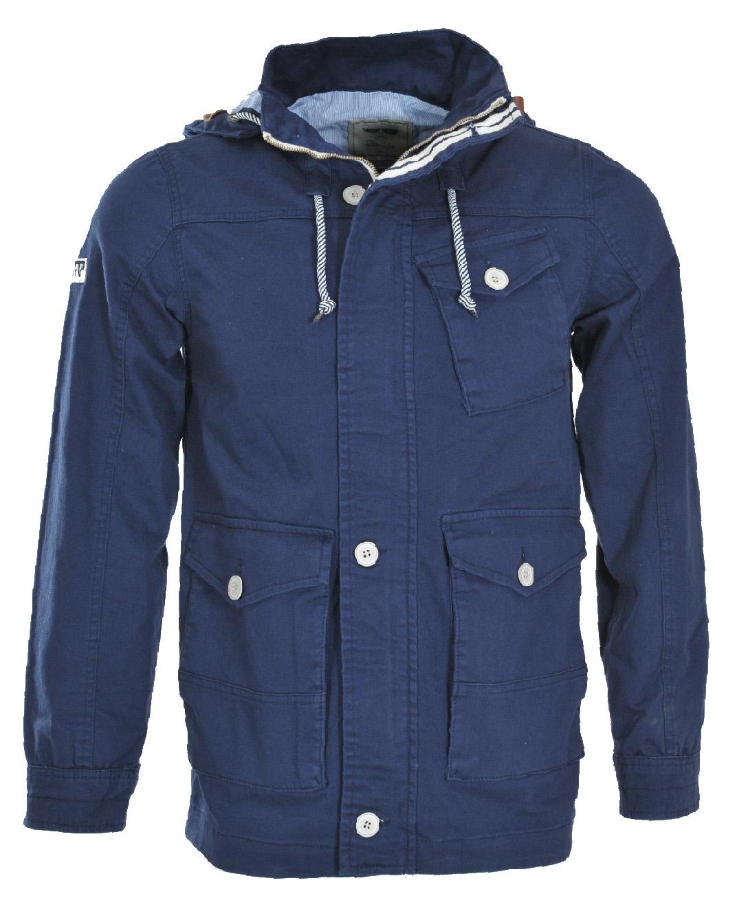 Ανδρικό Μπουφάν Blue London-Μπλε αρχική ανδρικά ρούχα μπουφάν