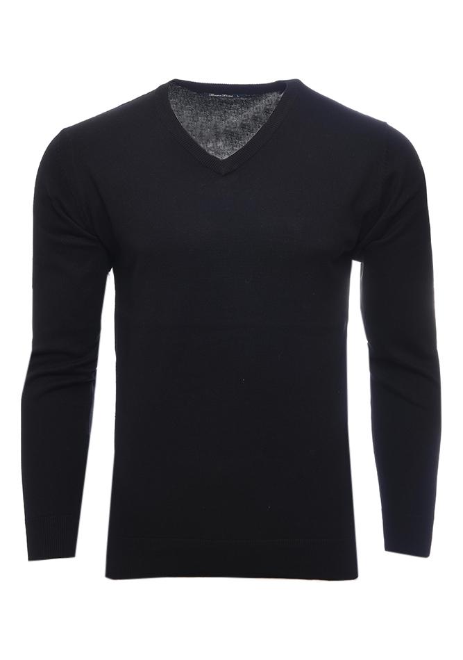 Ανδρική Μπλούζα V Royal Black αρχική ανδρικά ρούχα επιλογή ανά προϊόν πλεκτά