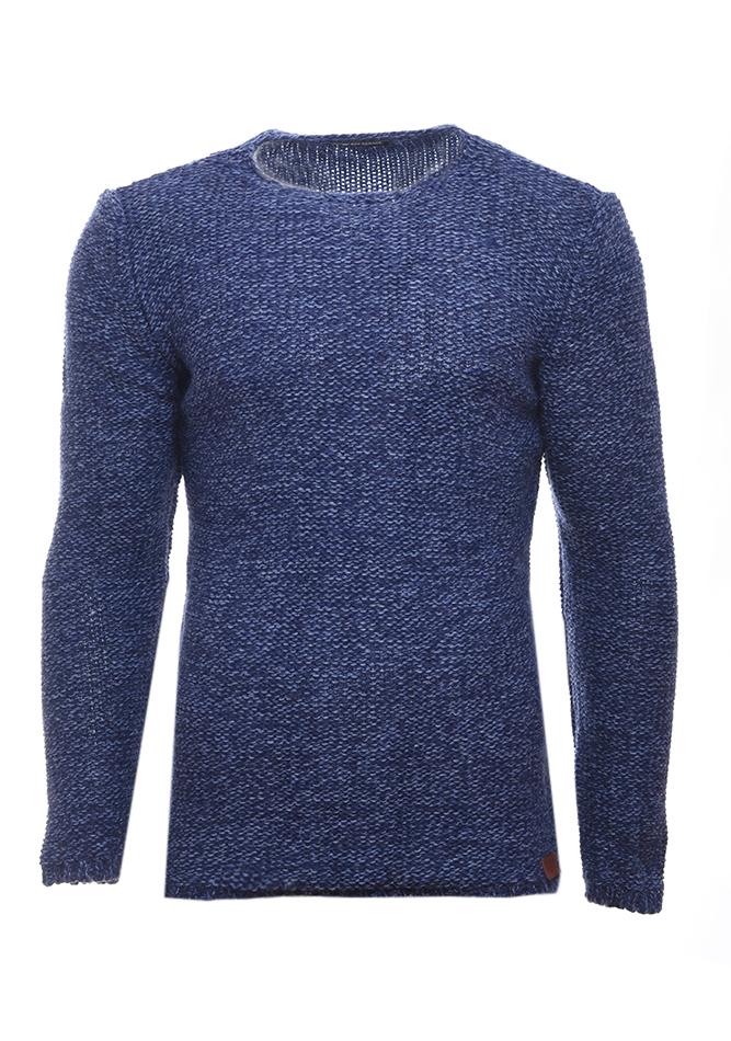 Ανδρική Πλεκτή Μπλούζα Eye Blue αρχική ανδρικά ρούχα