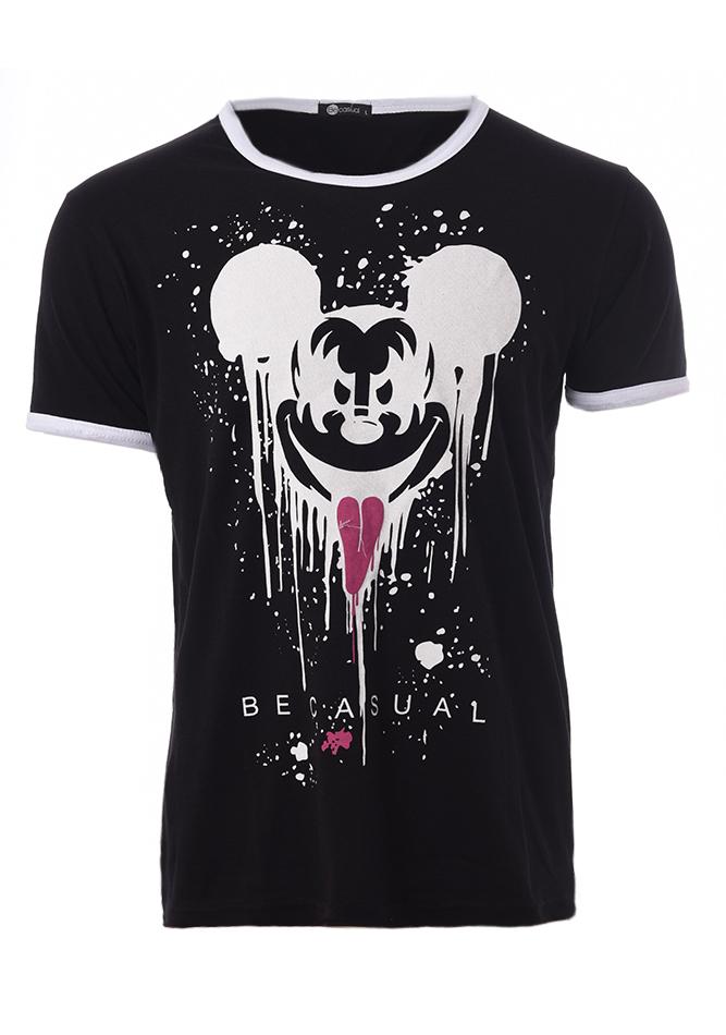 Ανδρικό T-shirt Evil Mickey Black αρχική ανδρικά ρούχα t shirts