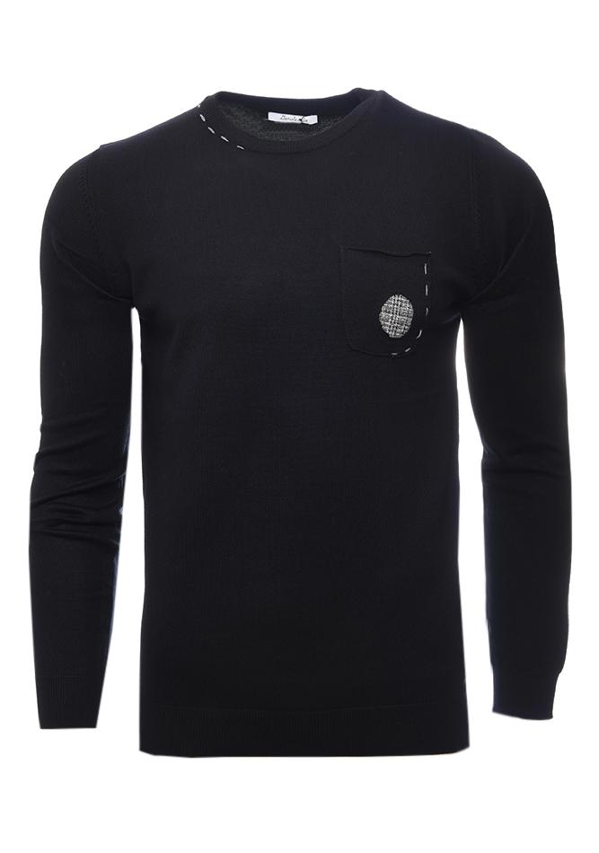 Ανδρική Μπλούζα Toy Black αρχική ανδρικά ρούχα επιλογή ανά προϊόν πλεκτά