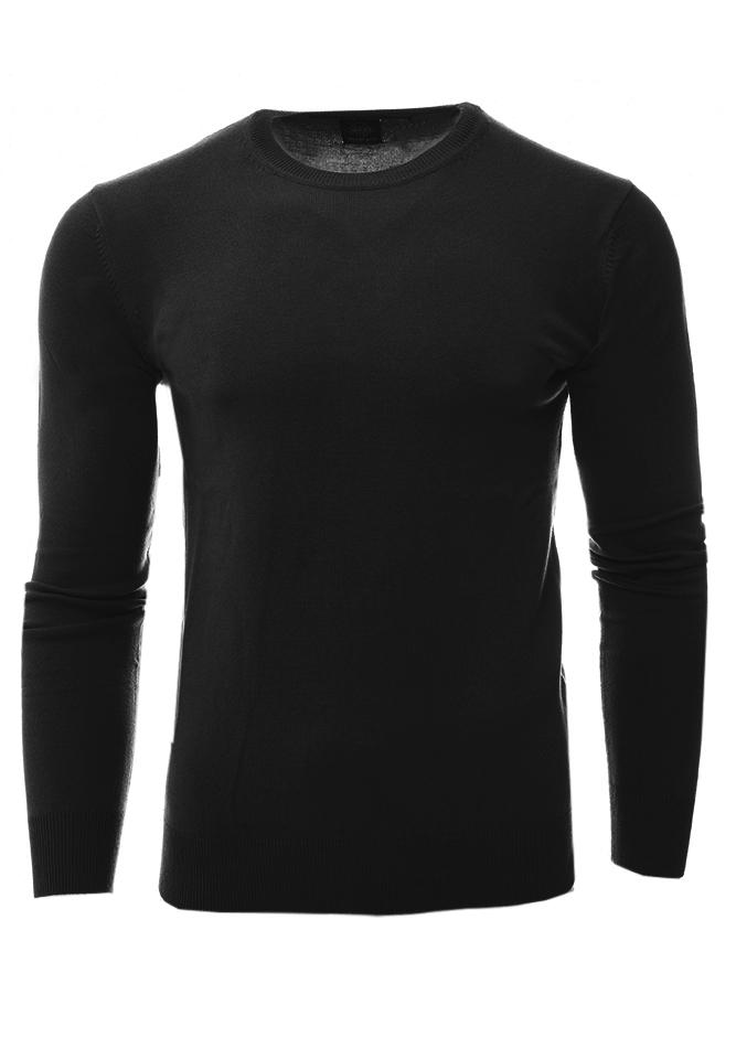 Ανδρική Μπλούζα Choice Black αρχική άντρας μπλούζες πλεκτά