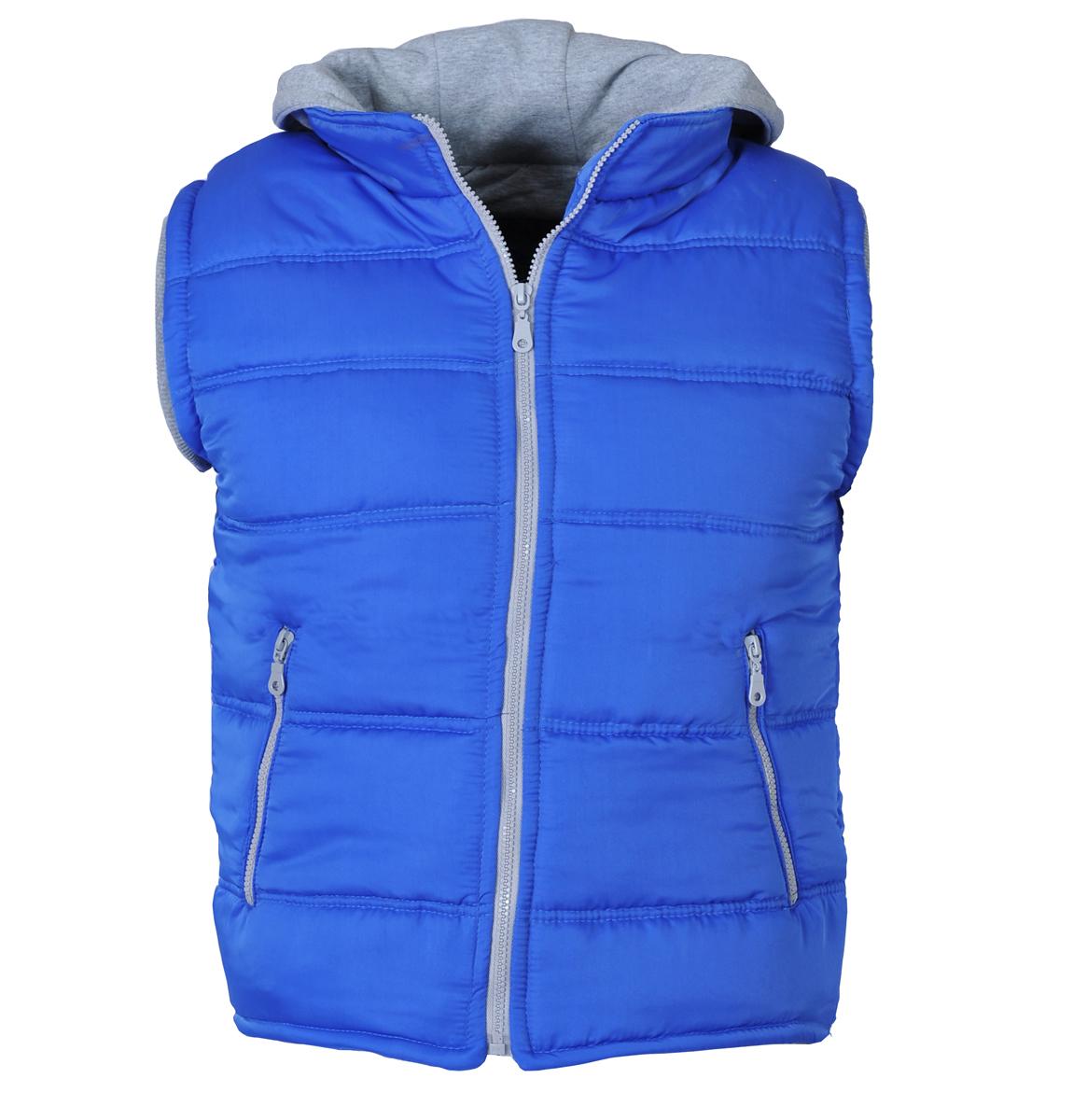 Ανδρικό Αμάνικο Μπουφάν So Fashion-Μπλε αρχική ανδρικά ρούχα μπουφάν