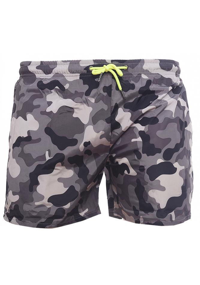 Ανδρικό Μαγιώ Camo Grey Army αρχική ανδρικά ρούχα επιλογή ανά προϊόν μαγιό