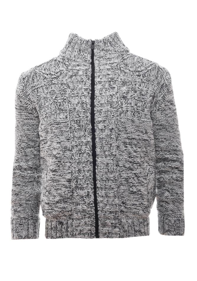 2c72c2a02eed Ανδρικά   Ρούχα   Πλεκτά   Ζακέτες   Ανδρική ζακέτα Reebok - BR7761 ...