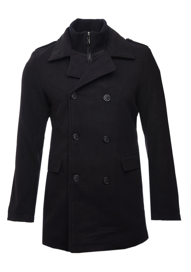 Ανδρικό Παλτό Press Black αρχική ανδρικά ρούχα επιλογή ανά προϊόν μπουφάν