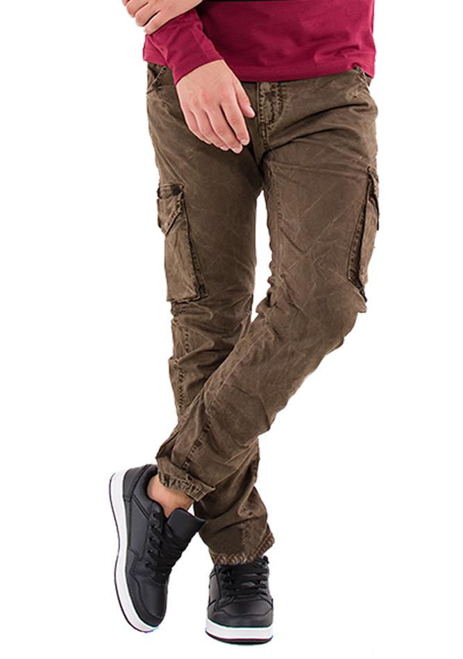 Ανδρικό Παντελόνι Enos Khaki αρχική ανδρικά ρούχα παντελόνια παντελόνια chinos