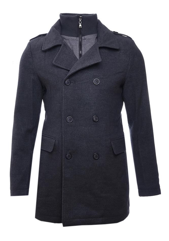 Ανδρικό Παλτό Imagine Grey αρχική ανδρικά ρούχα