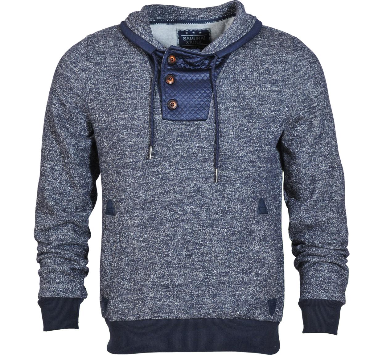 Ανδρικό Φούτερ Buttons Leather αρχική ανδρικά ρούχα φούτερ