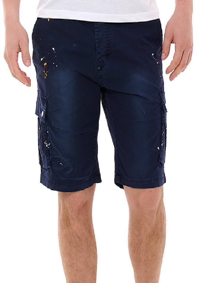 Ανδρική Βερμούδα Splash D.Blue αρχική ανδρικά ρούχα βερμούδες