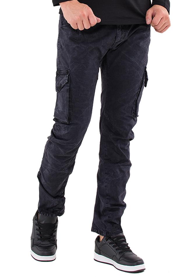 Ανδρικό Παντελόνι Enos Black αρχική ανδρικά ρούχα παντελόνια παντελόνια chinos