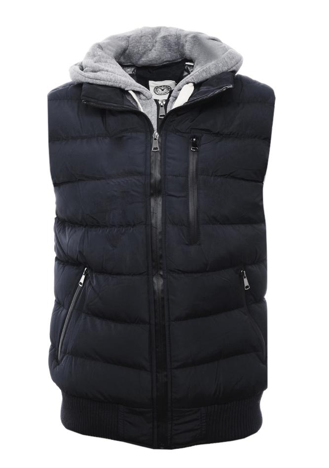 Αμάνικο Μπουφάν Smart Black αρχική ανδρικά ρούχα επιλογή ανά προϊόν μπουφάν