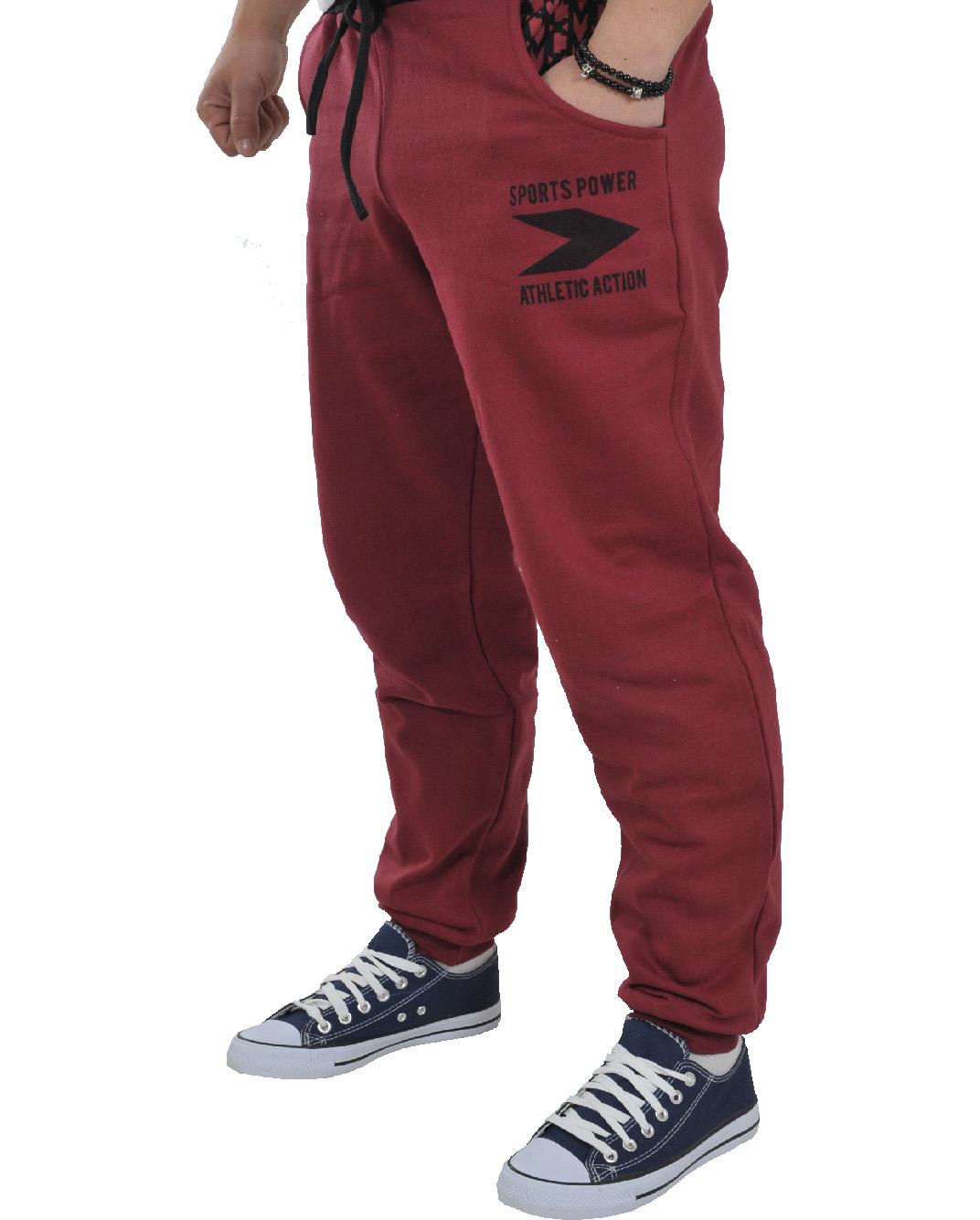 Ανδρική Φόρμα Becasual Sports Power-Μπορντό αρχική ανδρικά ρούχα φόρμες
