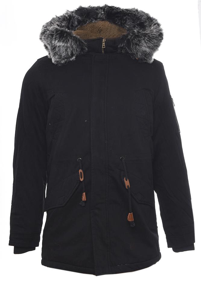 Ανδρικό Μπουφάν Parka Call Black αρχική ανδρικά ρούχα επιλογή ανά προϊόν μπουφάν