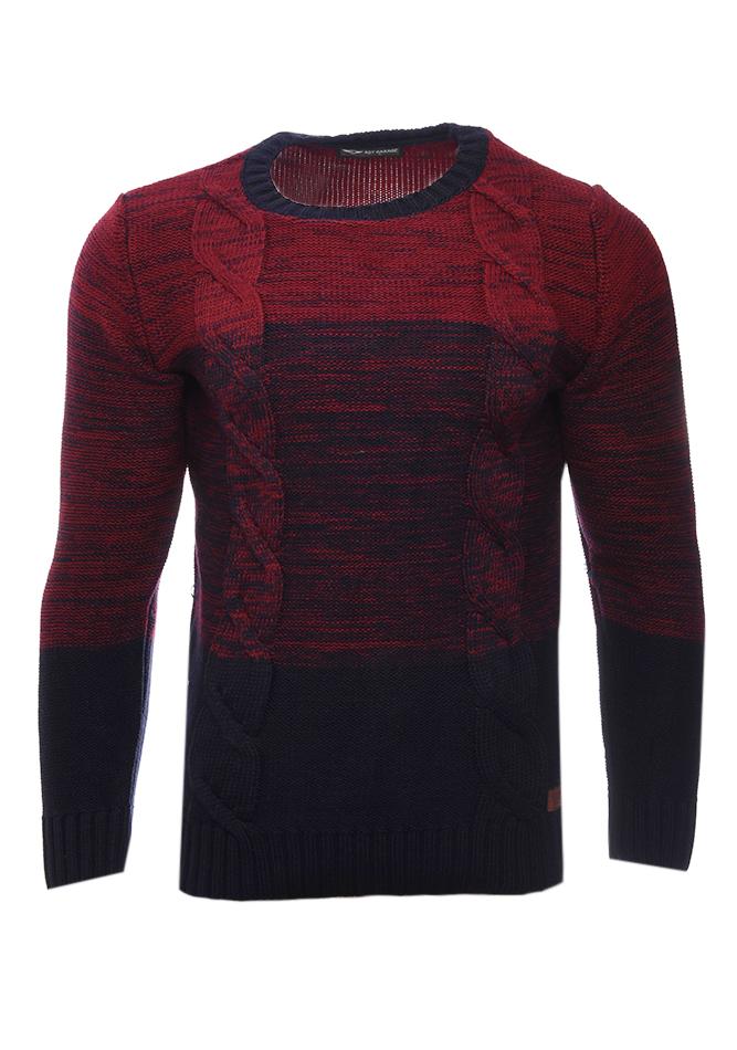 Ανδρική Πλεκτή Μπλούζα Garage Bordeaux αρχική ανδρικά ρούχα επιλογή ανά προϊόν πλεκτά