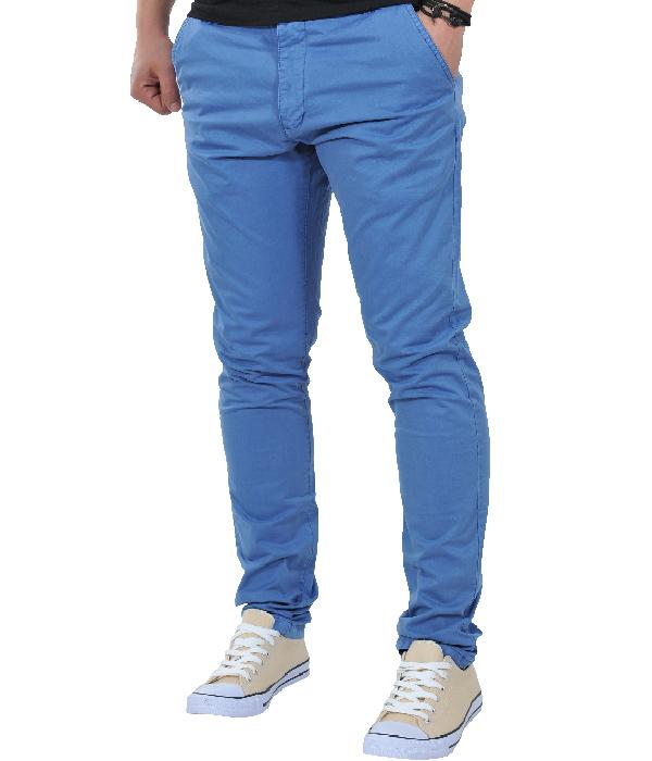 Ανδρικό Chino Παντελόνι Blue-Μπλε αρχική ανδρικά ρούχα παντελόνια chinos