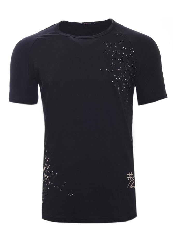 Ανδρικό T-shirt #23 Black αρχική ανδρικά ρούχα
