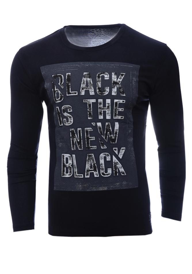 Ανδρική Μπλούζα The New Black αρχική ανδρικά ρούχα επιλογή ανά προϊόν μπλούζες